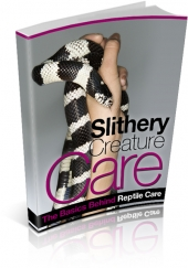 Slithery Creature Care Private Label Rights