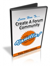 Set Up A Forum Community Using Vanilla Private Label Rights