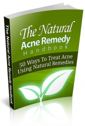 Natural Acne Remedy Handbook Private Label Rights