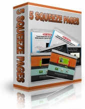 5 PLR Squeeze Pages Private Label Rights