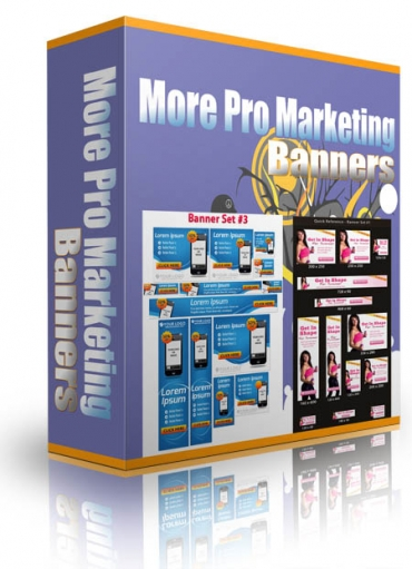 More Pro Marketing Banners