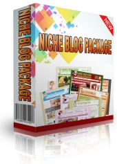 Niche Blog Package for August 2013 Private Label Rights