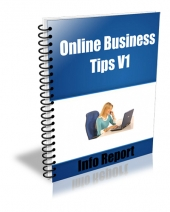 Online Business Tips V1-V4 Package Private Label Rights