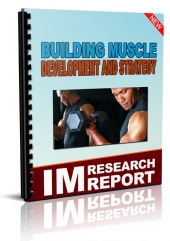 Building Muscle Development And Strategy Private Label Rights