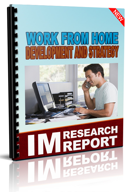 Working from Home Development And Strategy