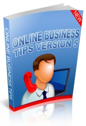 Online Business Tips Version 5 Private Label Rights