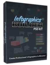 Infographics Builder PSD Kit Private Label Rights