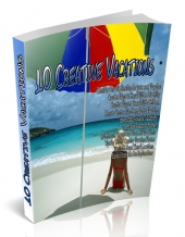 10 Creative Vacations PLR Articles Private Label Rights