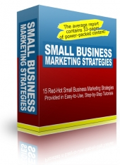 Small Business Marketing Stategies Private Label Rights