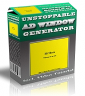 Unstoppable Ad Window Generator Private Label Rights