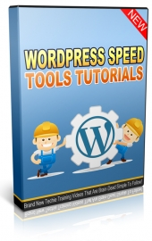 Wordpress Speed Tools Tutorials Private Label Rights