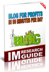 Blog for Profits in 90 Minutes per Day Private Label Rights