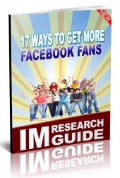 17 Ways to Get More Facebook Fans Private Label Rights
