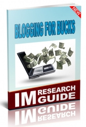 Blogging For Bucks Private Label Rights
