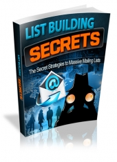 List Building Secrets for 2013 Private Label Rights