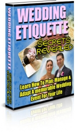 Wedding Etiquette Secrets Revealed Private Label Rights