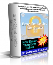 Easy Membership Site Creator v2 Private Label Rights