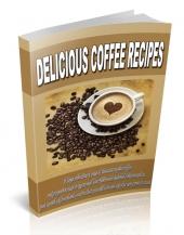Delicious Coffee Recipes Private Label Rights
