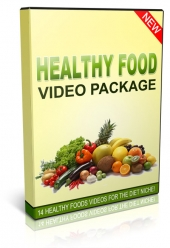 Healthy Food Videos Package Private Label Rights