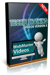 Techie Training Videos V10 Private Label Rights