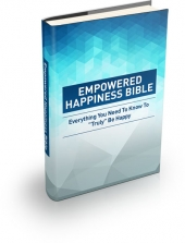 Empowered Happiness Bible Private Label Rights