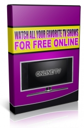 Watch All Your Favorite TV Shows For Free Online Private Label Rights