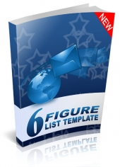 Six Figure List Template Private Label Rights
