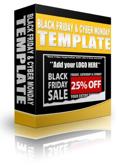 Black Friday & Cyber Monday Templates