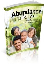 Abundance Living Basics Private Label Rights