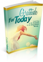 Gratitude For Today Private Label Rights