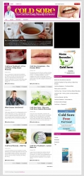 Cold Sore PLR Niche Blog Private Label Rights