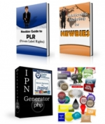 Newbie PLR Pack Private Label Rights