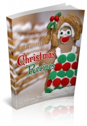 Family Christmas Recipes Private Label Rights