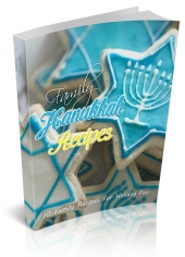 Family Hanukkah Recipes Private Label Rights