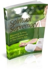 Spiritual Supremacy Private Label Rights