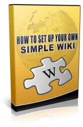 How To Set Up Your Own Simple Wiki Private Label Rights