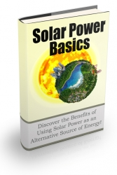 Solar Power Basics Newsletter Private Label Rights