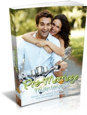 Pre-Marriage Maintenance Private Label Rights