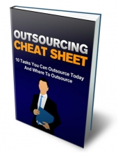 Outsourcing Cheat Sheet Private Label Rights