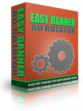 Easy Banner Ad Rotator Private Label Rights