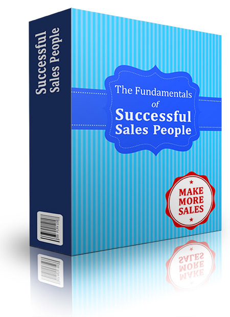 Fundamentals Of Successful Sales People
