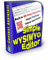 Simple WYSIWYG Editor Private Label Rights