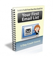Your First Email List eCourse Private Label Rights