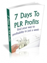 7 Days To PLR Profits Private Label Rights