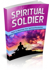 Spiritual Soldier Private Label Rights