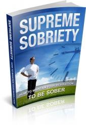 Supreme Sobriety Private Label Rights
