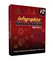 Infographics Builder PSD Kit 2 Private Label Rights