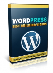 Wordpress List Building Videos Private Label Rights
