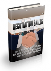 Negotiation Skill Techniques Private Label Rights