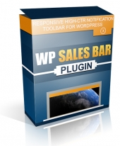 WP Sales Bar Plugin Private Label Rights